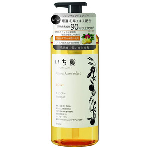 いち髪ナチュラルケアセレクト モイスト シャンプーポンプ480mL シトラスフローラルの香り