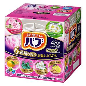 花王 バブ  6つの香りお楽しみBOX うるおいプラス
